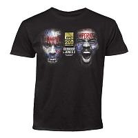 Youth Daniel Cormier vs. Jon Jones Black UFC 200 Dueling T-Shirt