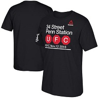 Youth Reebok Black UFC 205 Subway T-Shirt