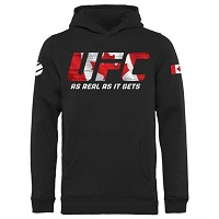 Youth UFC Black Canada UFC Nation Hoodie