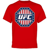 UFC American Warrior T-Shirt - Red