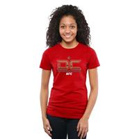 Women's Daniel Cormier Scarlet UFC DeeCee T-Shirt