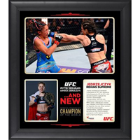 Joanna Jedrzejczyk Framed 15'' x 17'' UFC 185 New Women's Strawweight Champion Collage