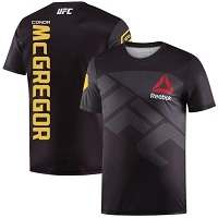 Men's Reebok Conor McGregor Black UFC Champion Jersey
