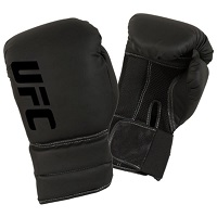 UFC Men's Boxing Gloves Black