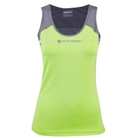 UFC Balance Juniors Tank Top - Green/Gray