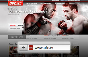 Go to UFC.tv