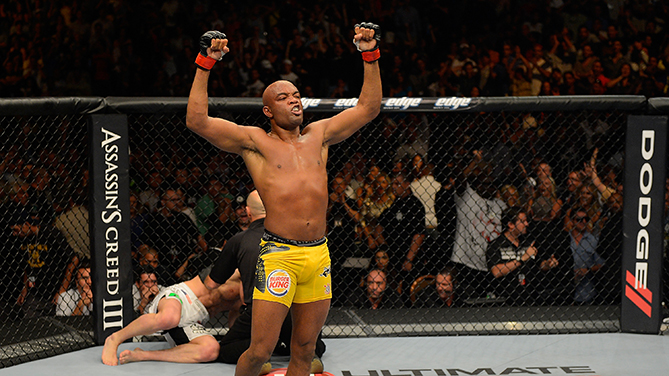 Silva Looks To Regain Stature as UFC's Best
