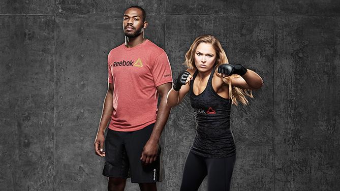 Reebok Signs Jon Jones and Ronda Rousey