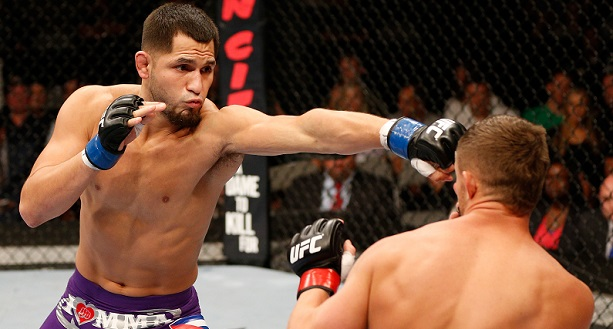 Vet Masvidal Rises from Deck to Beat Cruickshank
