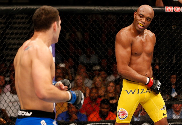 Silva vs. Weidman at UFC 162