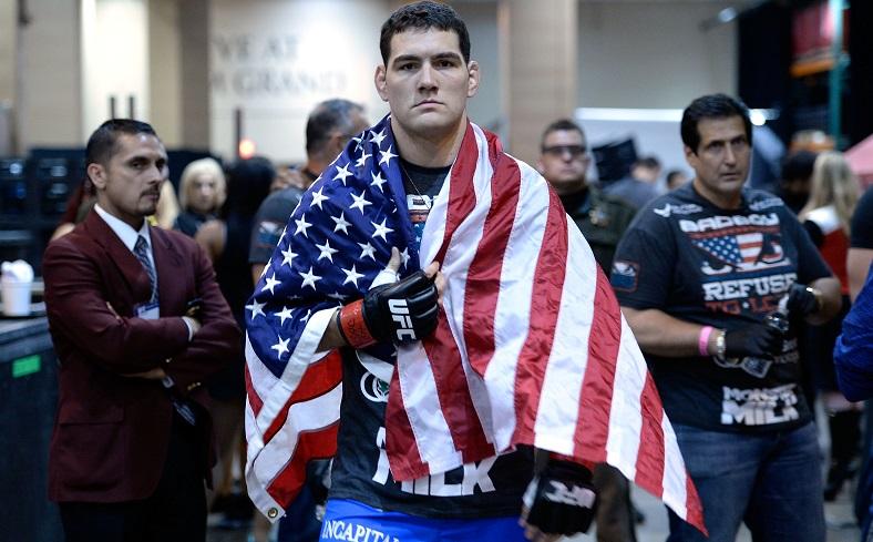 UFC middleweight champion Chris Weidman