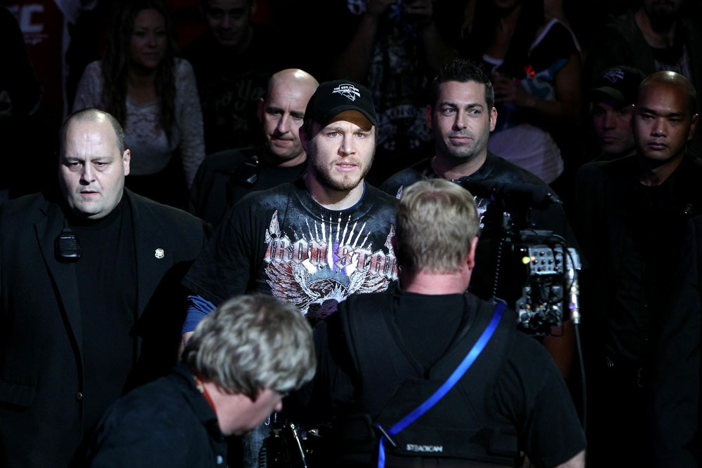 UFC 124: Dan Miller enters the ring