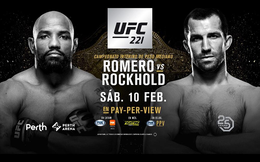 Image result for UFC 221: Romero vs. Rockhold