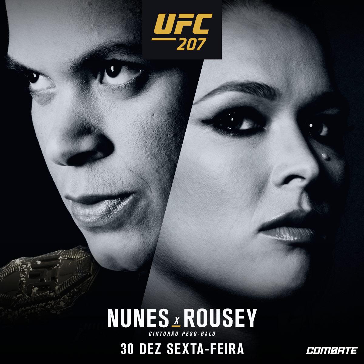 Assistir (UFC) 207 Ronda Rousey VS Amanda Nunes Ao Vivo 30/12/2016