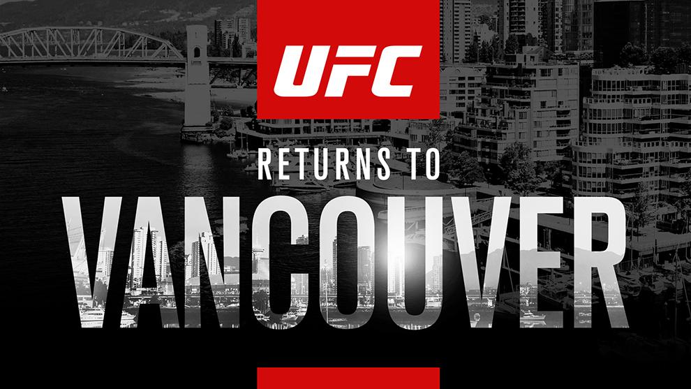 Vancouver UFC 2019