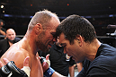 Lyoto Machida & Randy Couture