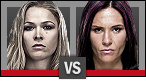 Ronda Rousey vs. Cat Zingano