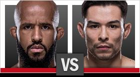 UFC 215 Johnson vs Borg