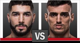 アイマン・ザハビ vs. リカルド・ラモス