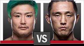 五味隆典 vs. キム・ドンヒョン