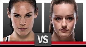 リナ・ランズバーグ vs. アスペン・ラッド