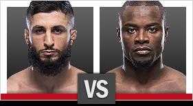 サバ・ホマシ vs. アブドゥル・ラザク・アルハサン