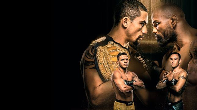 UFC 225:ウィテカー vs. ロメロ 2