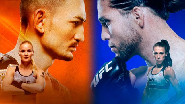 UFC 231:ホロウェイ vs. オルテガ