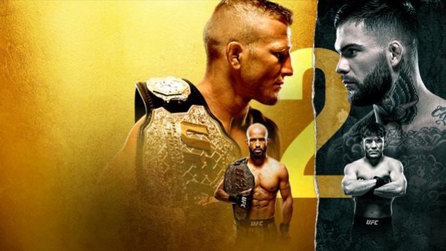 UFC 227:ディラショー vs. ガーブラント 2