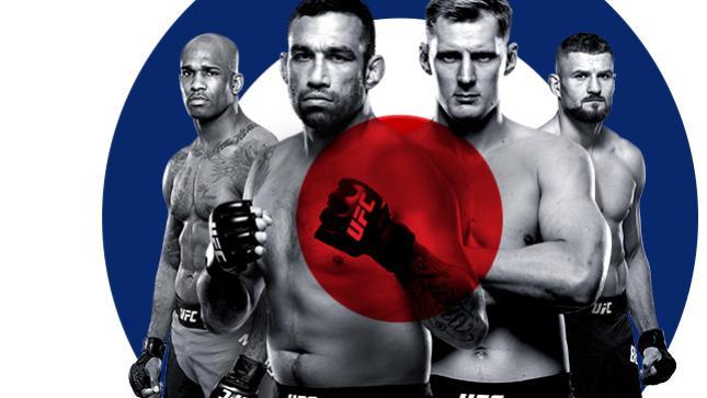UFCファイトナイト・ロンドン:ヴェウドゥム vs. ボルコフ