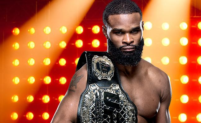 "Tyron Woodley - ""I'll fight Wonderboy