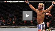 With less than three weeks' to prepare, Josh Koscheck returns to the Octagon with a first-round knockout of Hall of Famer Matt Hughes. Kos explains why he was able to step in on short notice, and what he think his future holds.