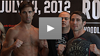STRIKEFORCE: Rockhold vs. Kennedy Weigh-In