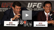 The stars of UFC® 152 discuss Coldplay, milkshakes, haircuts, and inter-weight class beef at the UFC® 152 pre-fight press conference.