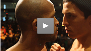 Joseph Benavidez and Demetrious Johnson are all business prior to their title fight, while Michael Bisping and Brian Stann are chomping at the bit for a chance at one another. See both serious staredowns here.