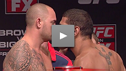 Watch the weigh-ins for UFC on FX 5: Browne vs. Bigfoot