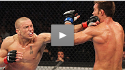 Georges St-Pierre returns from a long injury layoff to face Carlos Condit for the undisputed UFC welterweight title, while Martin Kampmann and Johny Hendricks battle for the chance to be the No.1 contender. Watch UFC 154 live on pay-per-view.