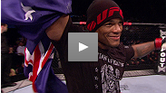 Middleweight powerhouse Hector Lombard earns his first win in the UFC, knocking out Rousimar Palhares in the first round. hear what he had to say about the win - and who he wants to fight next.