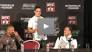 Watch the UFC on FX: Sotiropoulos vs. Pearson post-fight press conference.