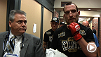 STRIKEFORCE Marquardt vs. Saffiedine: Gracie and Healy Post-Fight Interviews