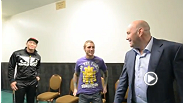 In Dana's second video blog for UFC on FX 7, we take a look behind the scenes of UFC 155.