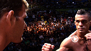 Watch as headliners Vitor Belfort and Michael Bisping go toe-to-toe at the UFC on FX weigh-in.