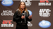 'The only person who can beat me is myself.' Liz Carmouche discusses her upcoming title shot against Ronda Rousey at UFC 157, and explains why she won't fall victim to Rousey's vaunted armbar.