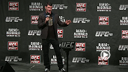 UFC middleweight Michael Bisping answers fan questions in London during the UFC Fight Club Q&A prior to the UFC on FUEL TV 7 weigh-in.