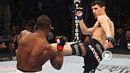Pablo Garza shows off his vaunted ground game - and a lot of tenacity - by finishing Yves Jabouin with a triangle choke at UFC 129.