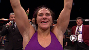 Cat Zingano keeps her unblemished record intact, stopping former Strikeforce champion Miesha Tate in the third round. Zingano discusses the victory, and her upcoming title shot against Ronda Rousey.