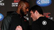 After endless taunts, jabs, and antics, Jon Jones and Chael Sonnen will finally meet inside the Octagon at UFC 159. Take a look back at the history of their war of words.