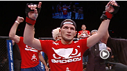 See highlights from lightweight Khabib Nurmagomedov and welterweight Robert Whittaker following their impressive wins at UFC 160.