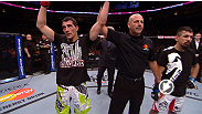 Welterweight Sean Pierson and bantamweight Roland Delorme keep the Canadian win streak alive at UFC 161, earning hard-fought decisions over Kenny Robertson and Edwin Figueroa, respectively. Watch highlights from their performances.