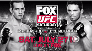 Confident, competent, competitive... welterweights Rory MacDonald and Jake Ellenberger are coming to UFC on FOX to make a point.